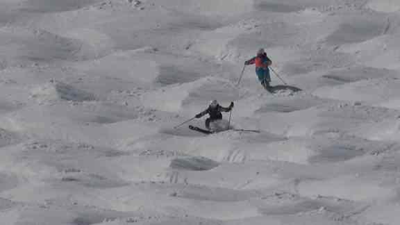 13歳で八方クラウンの少年スキーヤーと滑りました!